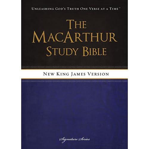 NKJV, The MacArthur Study Bible