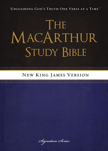 NKJV, The MacArthur Study Bible, Hardcover: Revised and   Updated - Jersey State Mall New Garden
