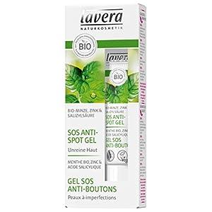lavera Gel Sos Anti-boutons – Zinc & acide salicylique extrait – Vegan – Cosmétiques naturels – Ingrédients végétaux bio – 100% naturel 15 ml