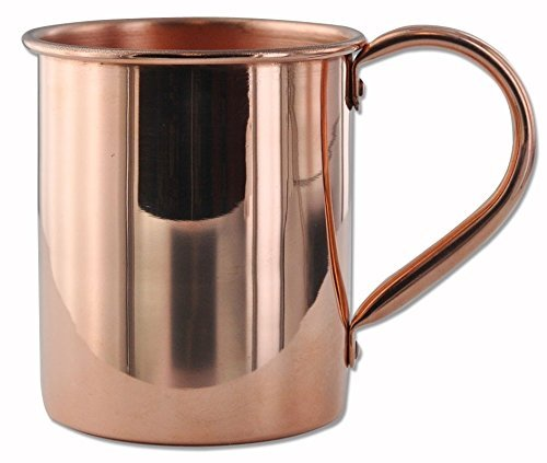 Key Gravy Boat (Circleware Moscow Mule Copper Mug, 100% Pure Solid Copper Handcrafted Beer Mug / Drink Cup with Nickel Lining, 14 Ounce, Limited Edition)