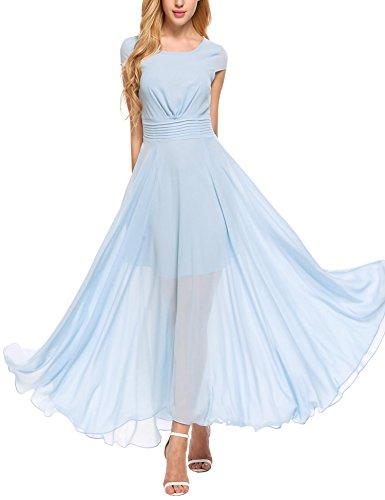 light blue maid dress - 4