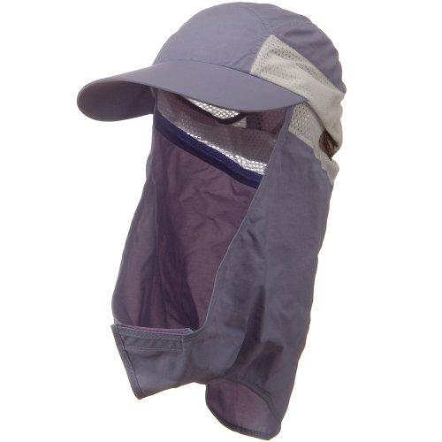 UV 50+ Talson Removable Flap Cap - Purple