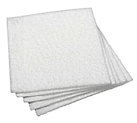 BOFA International A1030102 V200 y V250 - Filtros de repuesto para extracción de volumen, color blanco (Pack de 5)