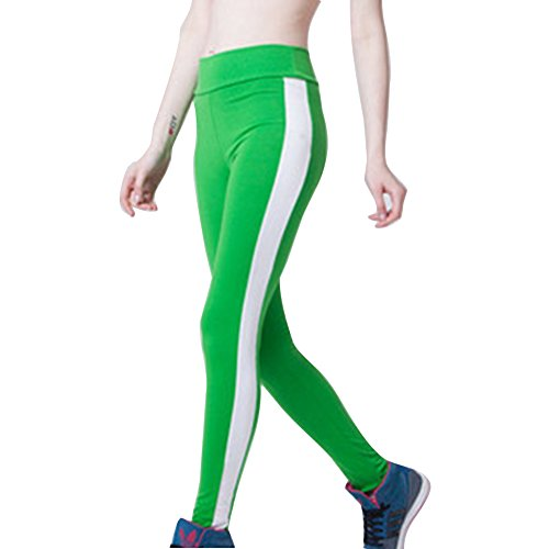 Chándal Elástico Mellas Juleya Verde Fitness Blanco Correr
