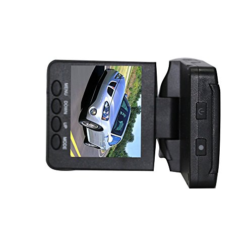 FX-Victoria 2.5-inch HD Car LED IR Vehicle DVR Road Dash Video Camera Recorder Traffic Dashboard Camcorder - LCD 270 degrees whirl 6D-1