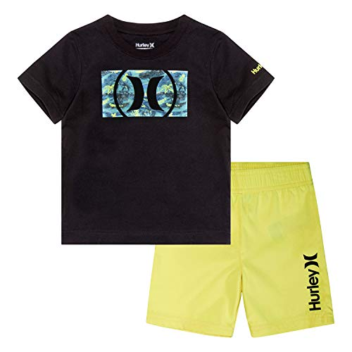 Hurley Baby Boys' Toddler Graphic T-Shirt and