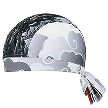 TopTie High-Performance Headband, Dew Rag, Skull Caps