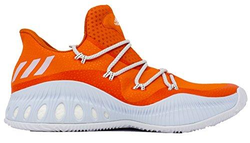 Adidas Pazzo Scarpone Esplosivo Da Uomo Da Basket Brillante Arancio-bianco-grigio Medio