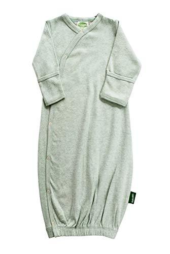 Parade Organics Kimono Gowns - Essentials Green Melange 0-3 Months ()