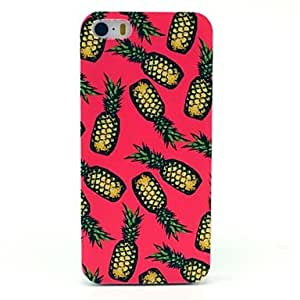 WEV Beautiful Pineapple Pattern Hard Case for iPhone 5/5S