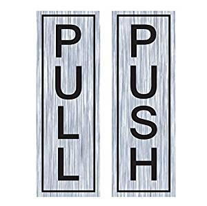 Wall4Stickers Pull Push Door Stickers Shop Window Salon Bar Cafe Restaurant Office Vinyl Sign  sc 1 st  SaveMoney.es & Pull push door stickers the best Amazon price in SaveMoney.es