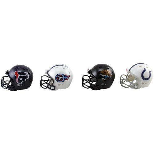 Riddell Afc Pocket - Riddell AFC South Division Pocket Helmet Set