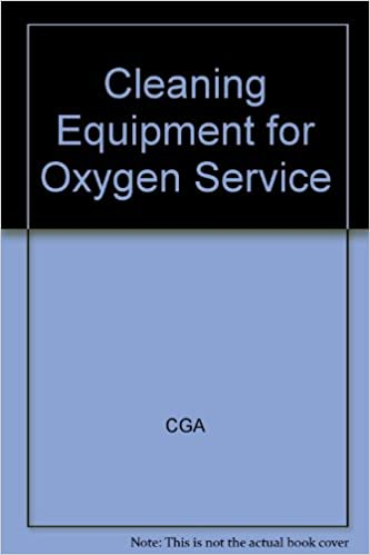 Cleaning Equipment for Oxygen Service