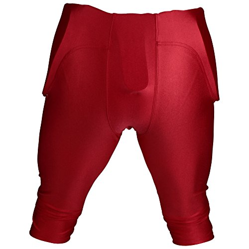 One Spandex nbsp;pads In 5 Rot 7 Athletics 'active All En Pant nbsp;couleurs Pantalon Padded Football Game BXTxqHTwAY