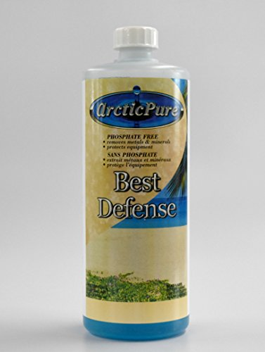 Arctic Pure Best Defense 1 qt, Arctic Spas Metal & Scale (Arctic Spas)