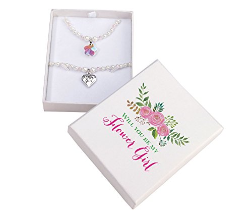 Lillian Rose Flower Girl Necklace & Bracelet Set