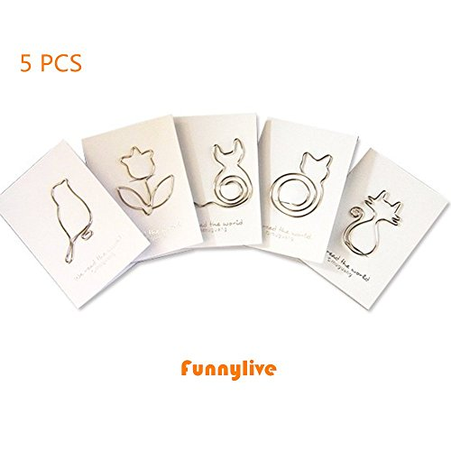 5 Pcs Book Page Holder Thumb Thing Bookmark - 1