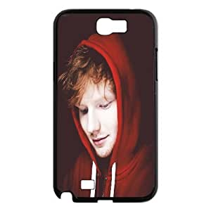 Yearinspace Ed Sheeran In Red Cases For Samsung Galaxy Note 2 Protection Cute, Case For Samsung Galaxy Note 2 Luxury Cheap For Boys With Black