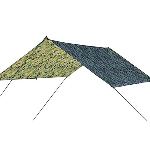 Duokon Carpa Impermeable Impermeable Lona de protección UV Extra Heavy Duty Plegable Sombra Sail Sun Shelter para Canopy Jardín al Aire Libre Parqu