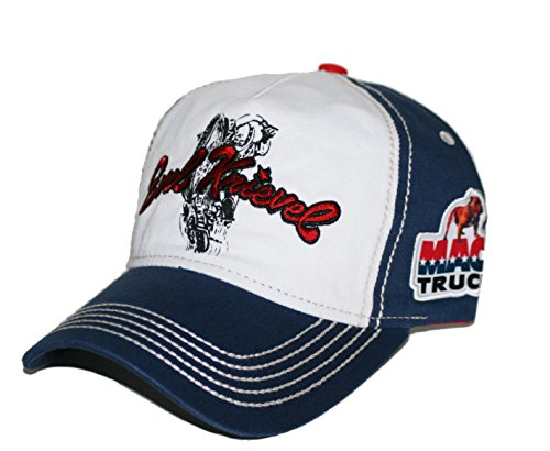 Mack Trucks Evel Knievel Jump Snapback Cap -