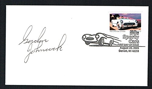 Gordon Gordy Johncock signed autograph auto First Day Cover FDC Indy 500 - First Winner Indy 500