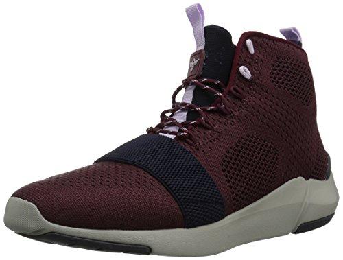 Creative Recreation Men's Modica Sneaker, Black, D(M) US Dark Burgundy Navy