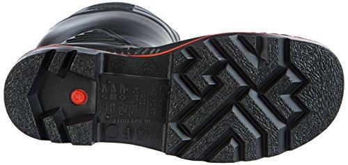 ACIF 48 Dunlop Unisex Botas S5 de Schwarz ZWART A442031 Agua KNIE TTZwEX