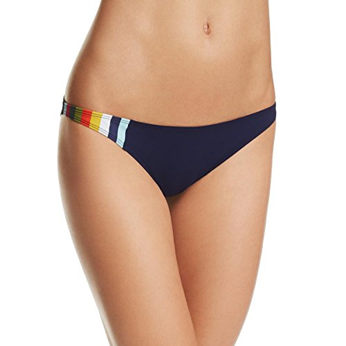 Tory Burch Womens Colorblock Low Rise Swim Bottom Separates Navy M from Tory Burch