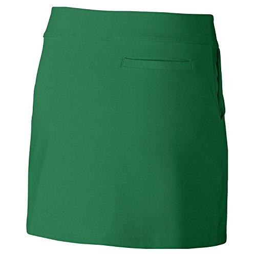 Tournament Mujer Nike Verde Knit blanco Falda Y8qO4wpxd