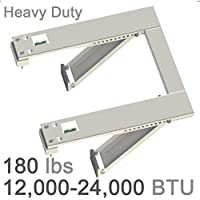Window Air Conditioner Support Bracket Heavy Duty, Up to 180 lbs, For 12000-24000 BTU AC Units