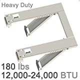 Universal Heavy Duty Window Air Conditioner AC Support Bracket-Up to 180 lbs, For 12000-24000 BTU AC Units