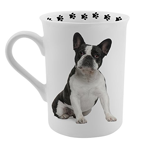 Dimension 9 French Bulldog Coffee Mug, White