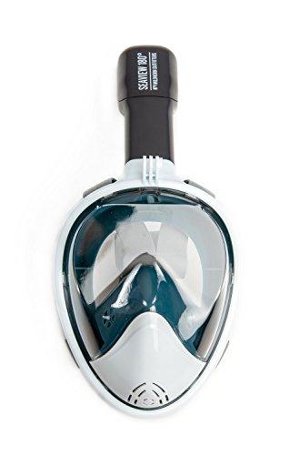 Seaview 180° Panoramic Snorkel Mask- Full Face Design. See More With Larger...