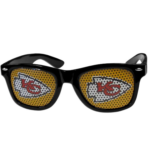 NFL Kansas City Chiefs Game Day Shades, Black