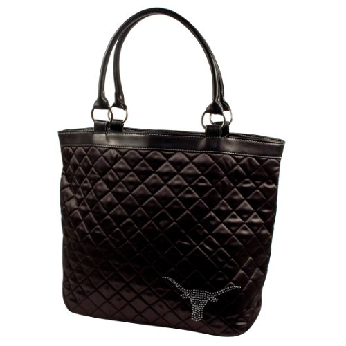 UPC 686699448035, NCAA Texas Longhorns Sport Noir Quilted Tote Bag, Black