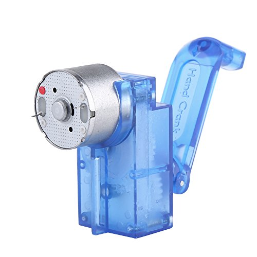 Zerone Hand Crank Driven Electricity Generator Mechanical Emergency