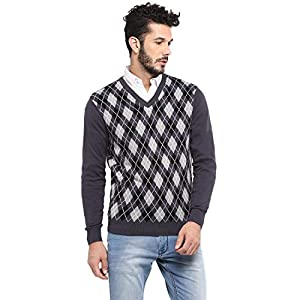 Red Chief Camel Cotton Sweaters for Men (8410179 004)