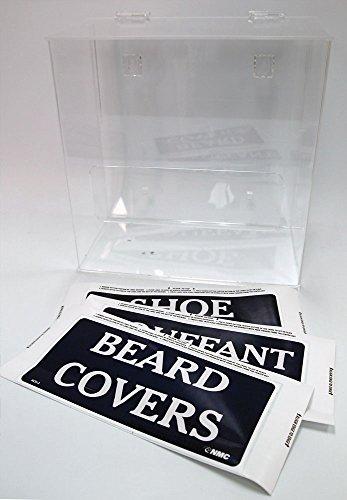 - Nmc Hair, Beard And Shoe Cover Dispenser - Beard Cover Dispenser