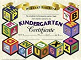 14 Pack HAYES SCHOOL PUBLISHING CERTIFICATES KINDERGARTEN 30/PK