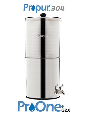(Ship from USA) ProPur 304 KING Water Filtration + 2 Newest ProOne-G 2.0 9'' Elements /ITEM NO#E8FH4F854145624 by ProPur