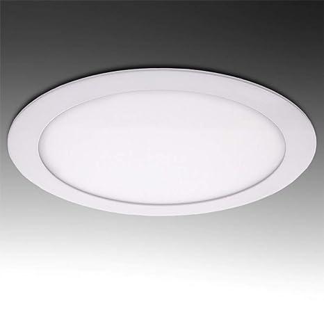 Greenice   Placa de LEDs Circular Ecoline 240Mm 20W 1600Lm 30.000H   Blanco Cálido