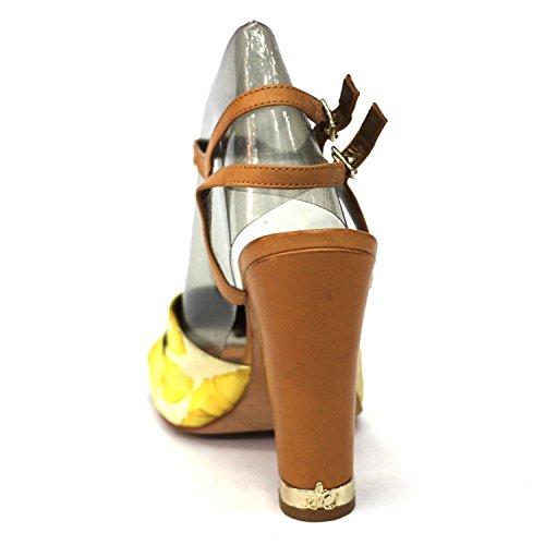 Sam Edelman de flores amarillas y pedrería para mujer, estándar del Reino Unido 3 RRP £149