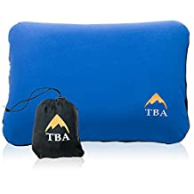 Sierra Ultralight I Camping Pillow With Luxurious Soft Peach Brush Pillow Case - Designed For Comfort So You Get A Great Sleep - For Hiking, Travel, Backpacking