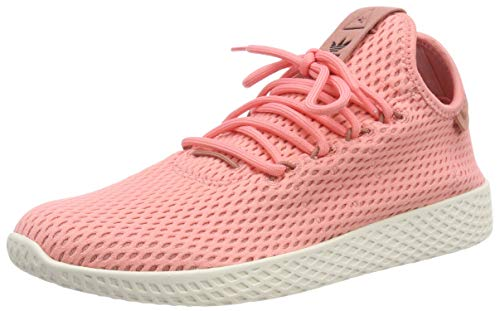adidas Originals PW Tennis HU Mens Trainers Sneakers (UK 3.5 US 4 EU 36, Pink White BY8715) by adidas (Image #1)