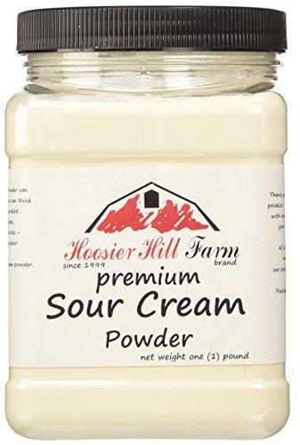 Hoosier Hill Farm Sour Cream Powder, 1 lb.Gluten Free and rBGH and rBST.free.
