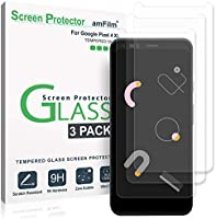 amFilm Pixel 4 XL Screen Protector Glass (3 Pack), Case Friendly (Easy Install) Tempered Glass Screen Protector Film for...
