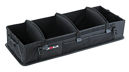 Rola 59001 M.O.V.E. Rigid-Base Trunk Organizer, Customizable Storage, Removable (Black) (Panel Storage Recess)