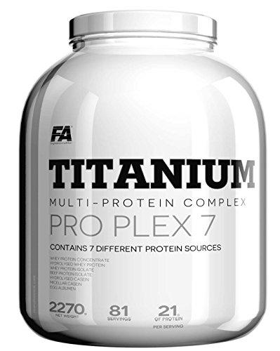 FA Nutrition Performance Titanium Pro Plex 7 - 2.27 Kg Proteinkomplex // Erdbeer