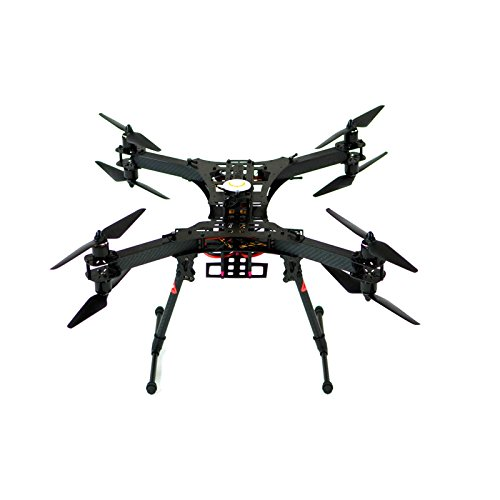 xFold Rigs SPY-8URTF   Octocopter Drone Rig with 3 Axis Gimbal