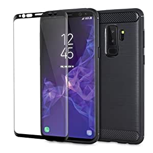 samsung galaxy s9 plus case with screen protector 360 degree full body cover. Black Bedroom Furniture Sets. Home Design Ideas